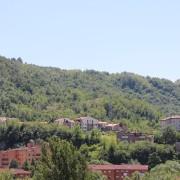 Vista panoramica del complesso residenziale