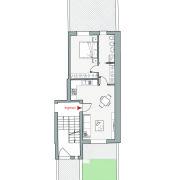 Appartamenti in vendita o affitto, Altopiano di Vado - Pianta app. F
