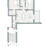Appartamenti in vendita, Altopiano di Vado - Pianta app. T