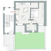 Appartamenti in vendita o affitto, Altopiano di Vado - Pianta app. D
