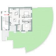 Appartamento con giardino in vendita, Altopiano di Vado - Pianta